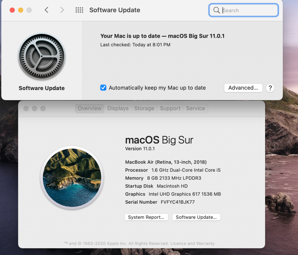 Check for Mac Update