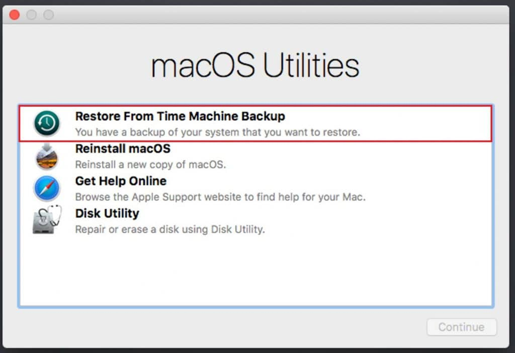 Recover lost Word Document with a Mac Backup
